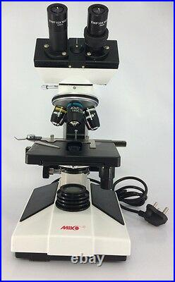 40X-2000X Binocular Compound Microscope With 3D Mechanical Stage LED