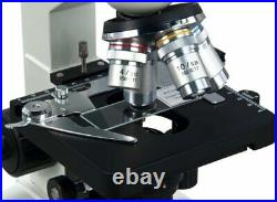 40X-2000X Lab LED Binocular Compound Microscope with Double Layer Mechanical