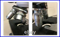 AmScope 40X-2500X Trinocular Lab Compound Microscope with 3D Mechanical Stage LED