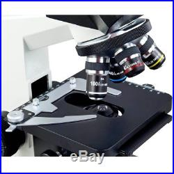 Full Size Lab Digital Trinocular Compound Led Microscope with USB Camera 3D Stage