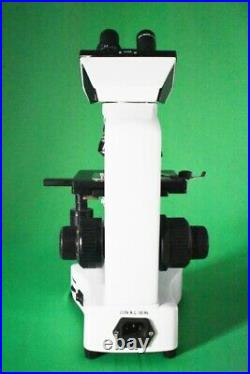 LED Lab Binocular Compound Microscope with 3D mechnical stage