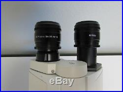 Leica DMLED Compound Lab Microscope + 3 Objectives + Rechargeable Battery