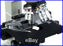 OMAX 40X-2000X Lab LED Binocular Compound Microscope with Double Layer Mechan