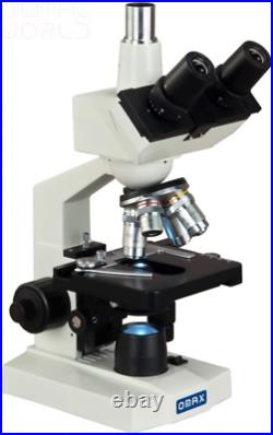 OMAX 40X-2000X Lab Trinocular Biological Compound LED Microscope with