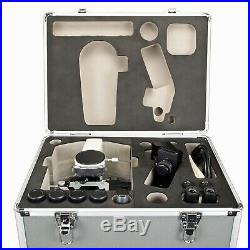 OMAX 40X-2500X 5MP USB3 Compound LED Lab Microscope and Aluminum Carrying Case