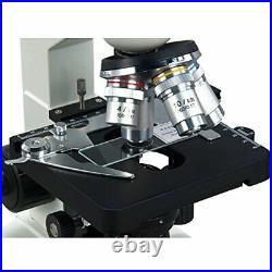 OMAX 40X-2500X LED Binocular Lab Compound Microscope with 5MP Camera and Mech