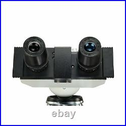 OMAX 40X-2500X Lab Binocular Compound LED Microscope with Double Layer Mechan