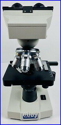 OMAX M83EZ-C50S Lab Binocular Compound LED Microscope With Mechanical Stage