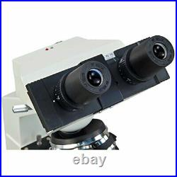 OMAX MD82ES10 40X-2000X Digital LED Compound Microscope with Built-in 1.3MP