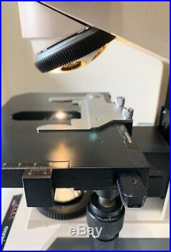 Olympus (BH-2) BHT Microscope with Trinocular, Head, Condenser, Stage and Lamp