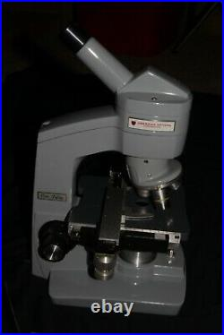 Reconditioned AO model One Fifty Lab microscope. 40X, 100X and 450X