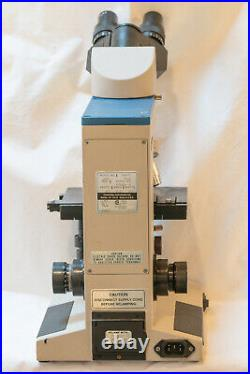 Reichert MicroStar IV Clinical Laboratory Microscope 5 Objectives and Dual Heads