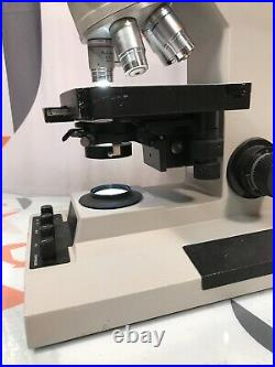 Reichert Microstar IV Lab Microscope with 5 objectives