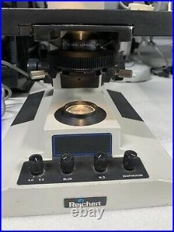 Reichert Microstar IV Lab Microscope with objectives