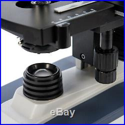 SWIFT 40X-2500X LED Trinocular Lab Compound Microscope with 28mm Phone Adapter