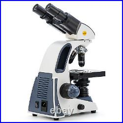 SWIFT Compound Microscope 40X-2500X Binocular Lab with 3D Stage LED 66 Accessories
