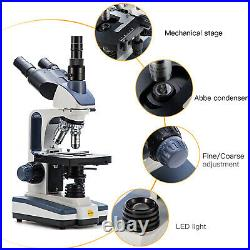 SWIFT Lab 2500X Biological Lab Microscope+28mm Smartphone Adapter+66 Accessories