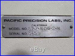T151328 Pacific Precision Labs Inspection Microscope ST-Z-M06-2-M + Light Source