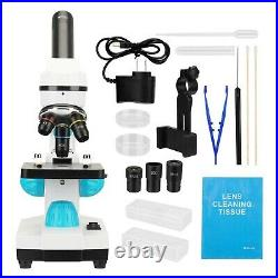 TOPQSC 2000X Optical Compound Lab Microscope for Kids Students, Professional