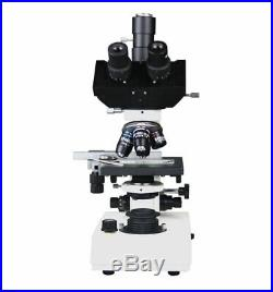 Trinocular Medical Compound Clinical Vet Doctor Lab Microscope w Camera Port